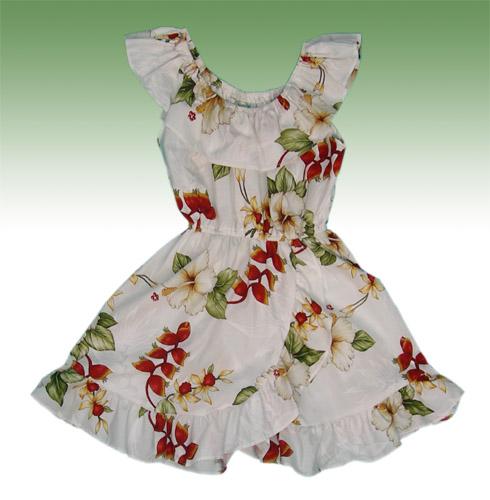 d72f6aa33e53 49white_spanish_dress.jpg, Hawaiian Princess Cotton Dress