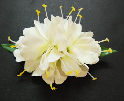 Ginger white flower clip da808style ginger white flower clip mightylinksfo